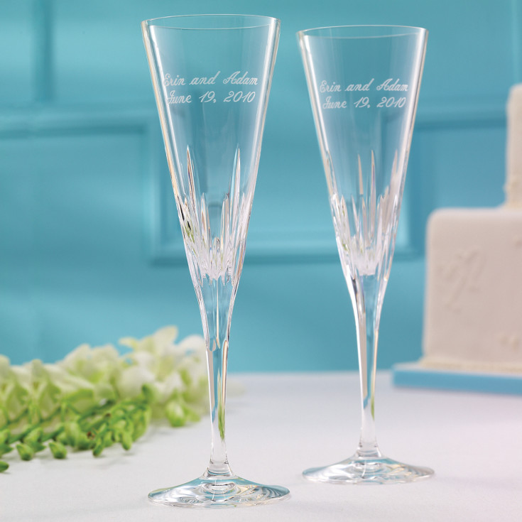 Vera wang duchesse wedding toasting flutes wedding for Vera wang duchesse wine glasses