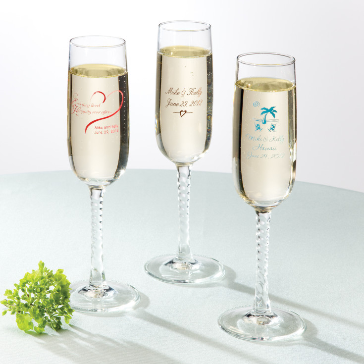 personalized wedding toasting flutes wedding toasting flutes