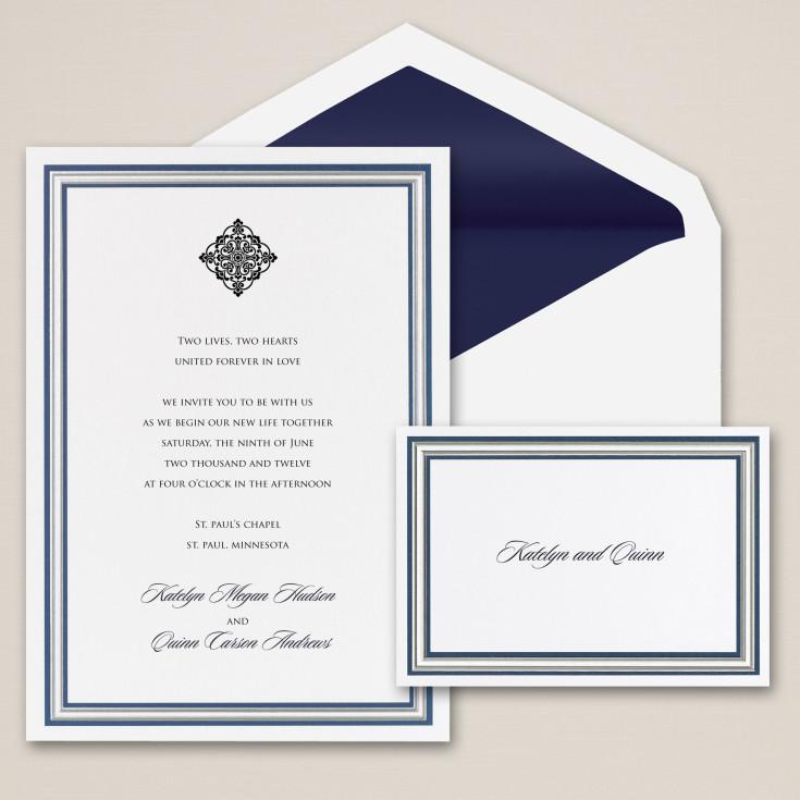 First Impression Wedding Invitation