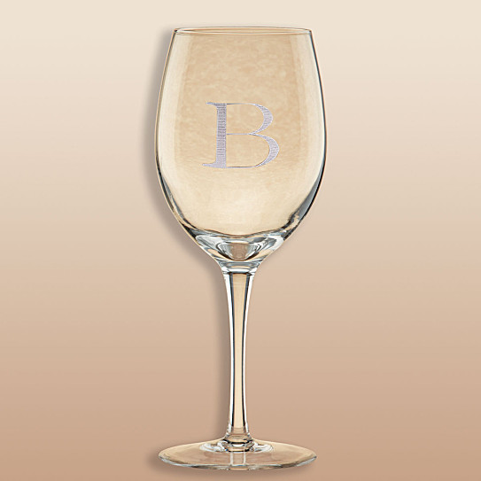 Exclusively weddings lenox tuscany classics white wine glass set - Lenox stemless red wine glasses ...