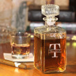 Personalized Whiskey Decanter with Free Name-Initial Monogram