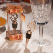 Leaf Bottle Stopper Wedding Favor