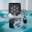 Snowflake Bottle Stopper Wedding Favor