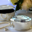Oval-Shaped Trinket Box for Bridesmaids