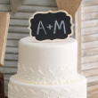 Chalkboard Cake Top