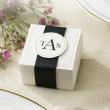 Elegant Ivory Wedding Favor Boxes