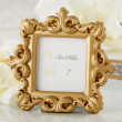 Gold Baroque Wedding Place Card Holder/Photo Frame