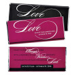 Hershey's® Always Forever Love Personalized Large Chocolate Bar Favor