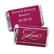 Hershey's® Always Forever Love Mini Chocolate Bars Personalized Favor