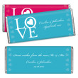 Hershey's® Circle of Love Personalized Large Chocolate Bar Favor
