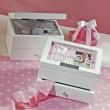 Keepsake Jewelry Box With Photo Frame for Flower Girl