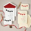 Hung up on Love Wedding Invitation