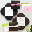 Petal Wrap Wedding Invitation