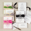 Delightfully Damask Wedding Invitation