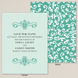Bliss Save the Date Card