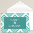 Geometric Affair Thank You Note