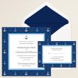 Anchors Away Wedding Invitation