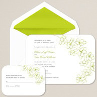 Green Wedding Themes and Wedding Schemes