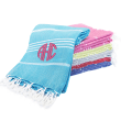 Personalized 100% Cotton Turkish Towel for Beach, Spa and Bath