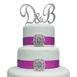 Swarovski Crystal Ampersand Cake Topper