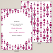 Deco Jewels Save the Date Card