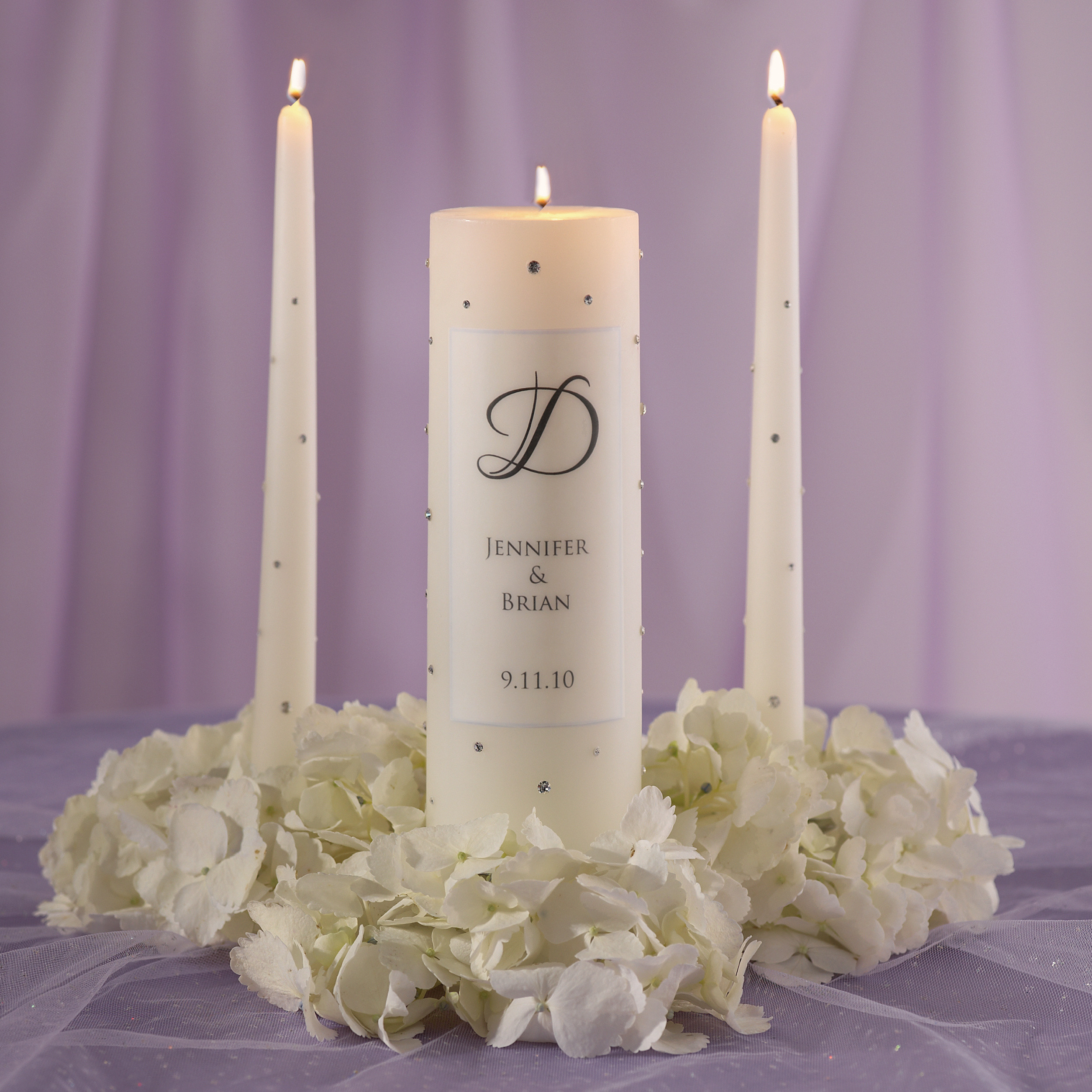 crystal wedding unity candle wedding unity candle