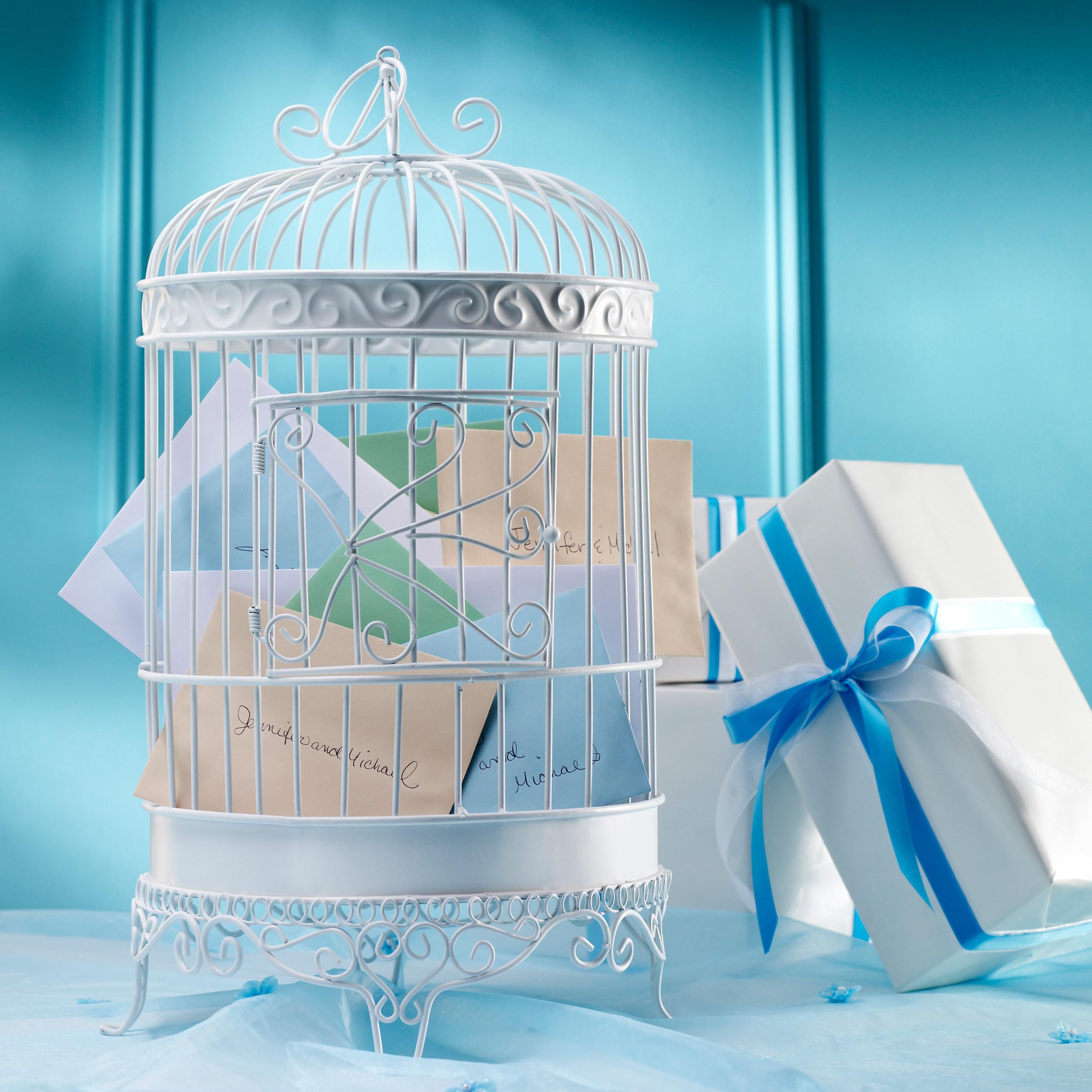Lillian Rose Bird Cage Wedding Card Box – Birdcage Wedding Card Box