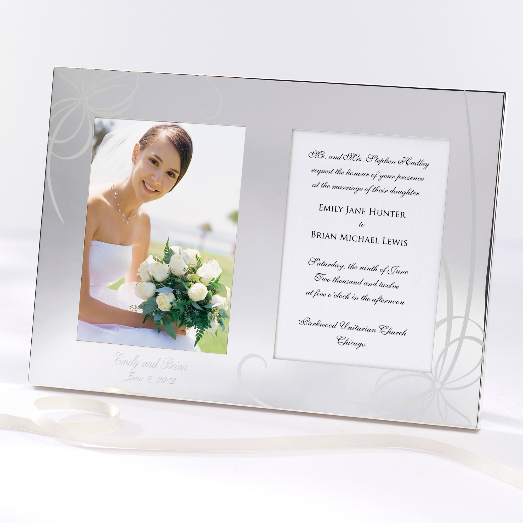 Wedding Invitation Frame Amazoncom