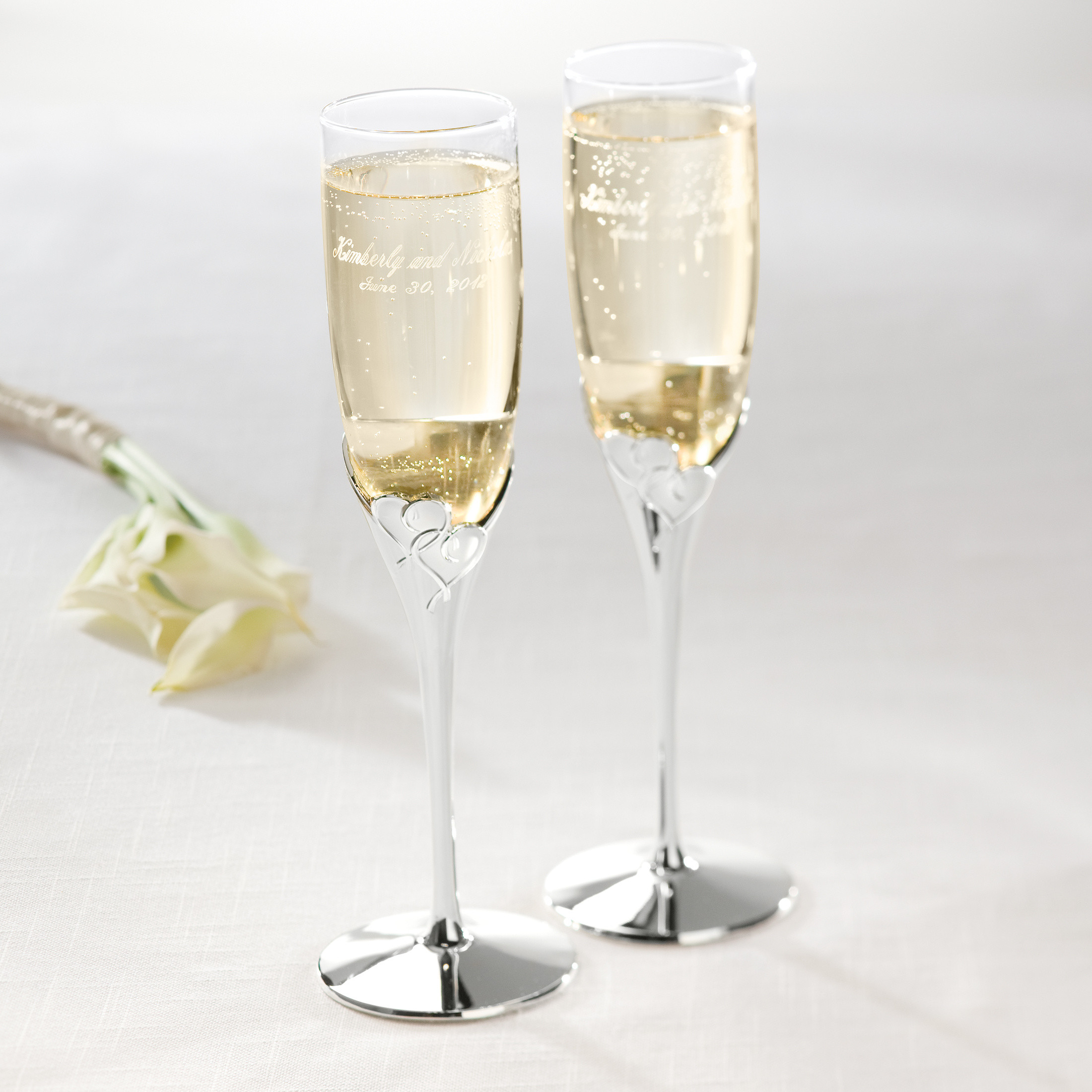 Wedding Wedding Toasting Flutes lenox true love toasting flutes wedding flutes