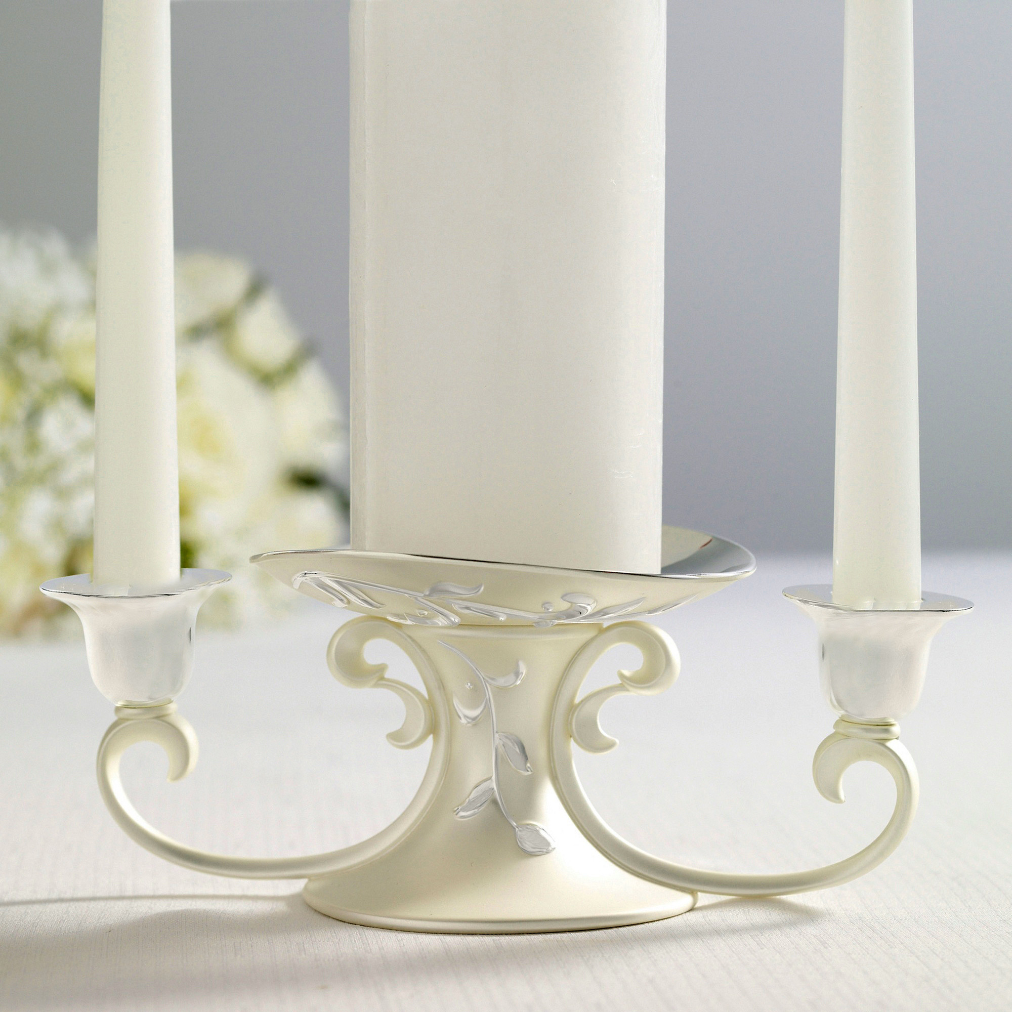 opal innocence unity candle holder lenox candleholder set