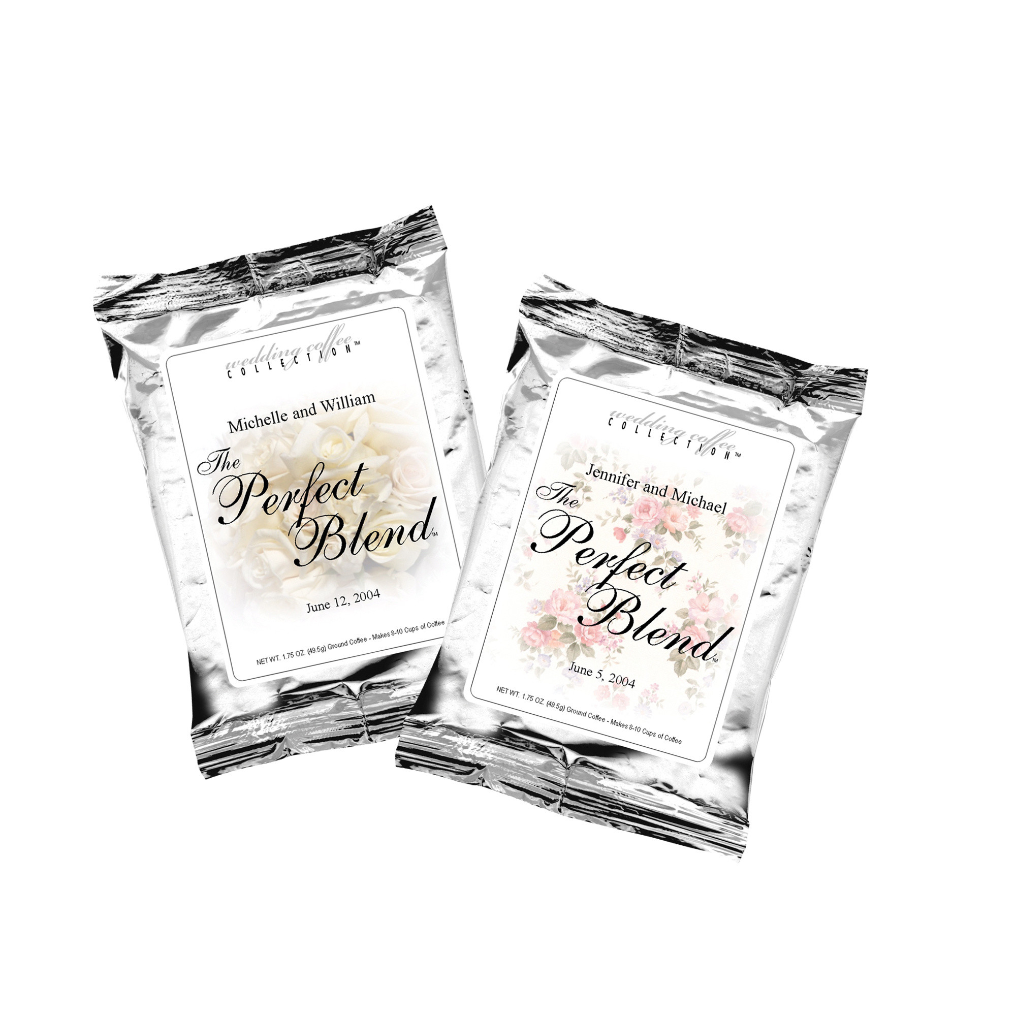 The Perfect Blend Coffee Personalized Wedding Favor Coffee