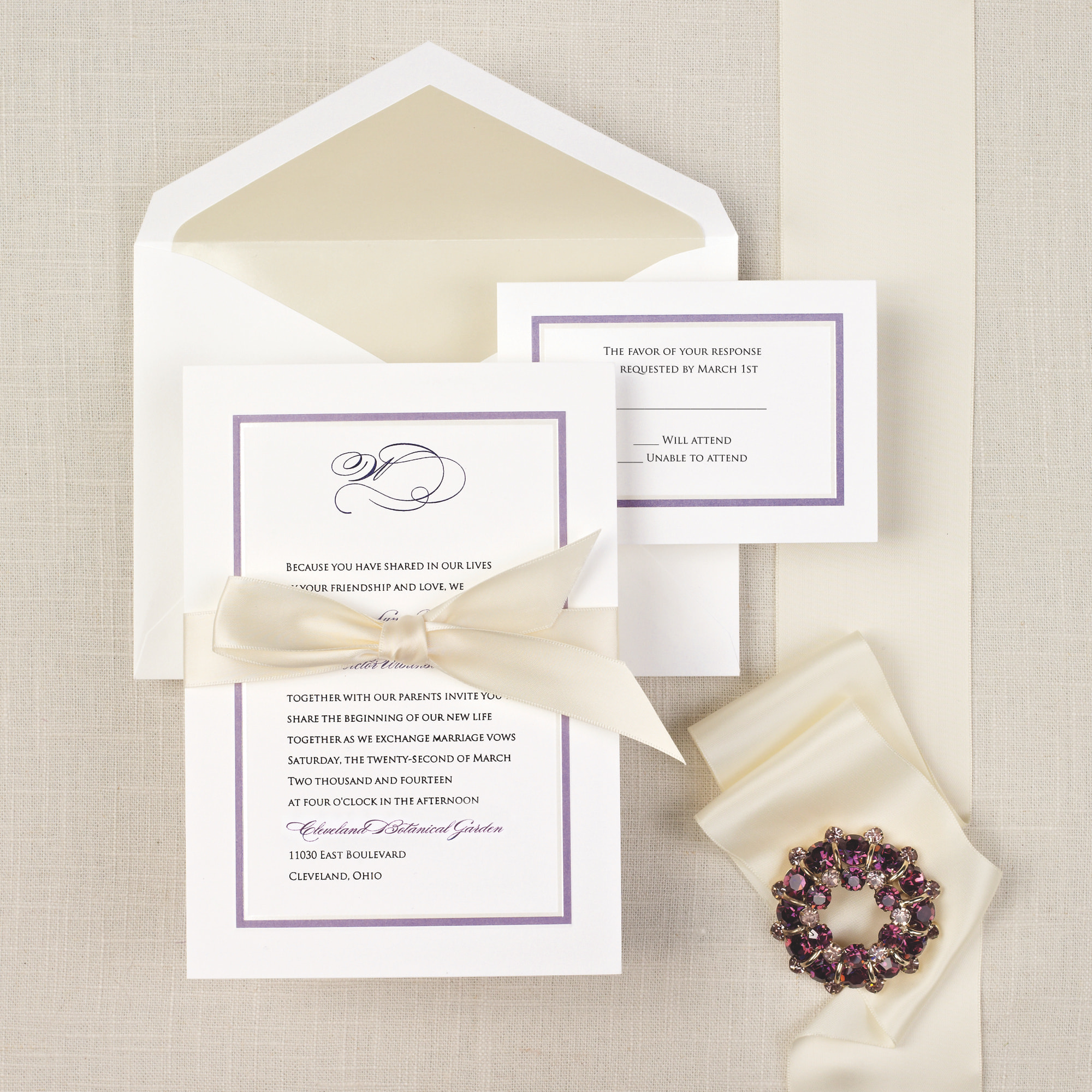 colorful chic wedding invitation classic and simple wedding invitations - Weddings Invitations