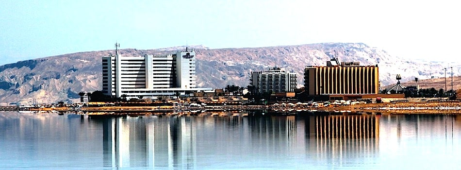 Dead Sea hotels, hostels and accommodations