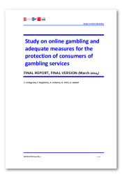 Final report - Study on online gambling and adequate measures for the protection of consumers of gambling services