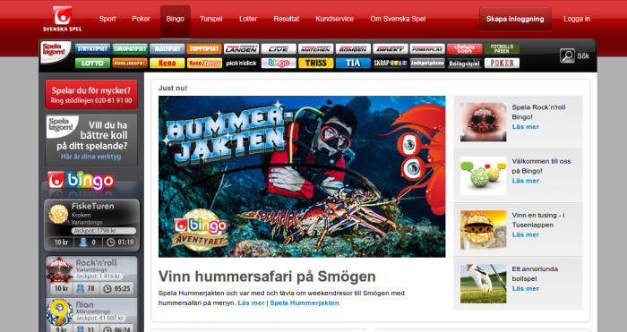 Example of Consumer Protection in Sweden: Limited Number of Gambling Operators