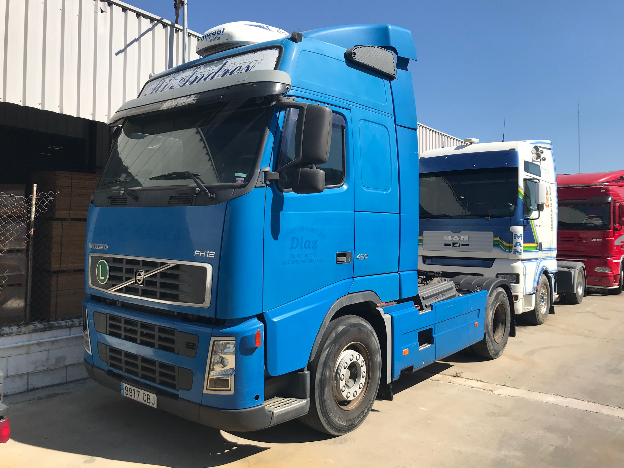 RENAULT FH 420