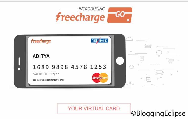 FreeeCharge Go Mastercard