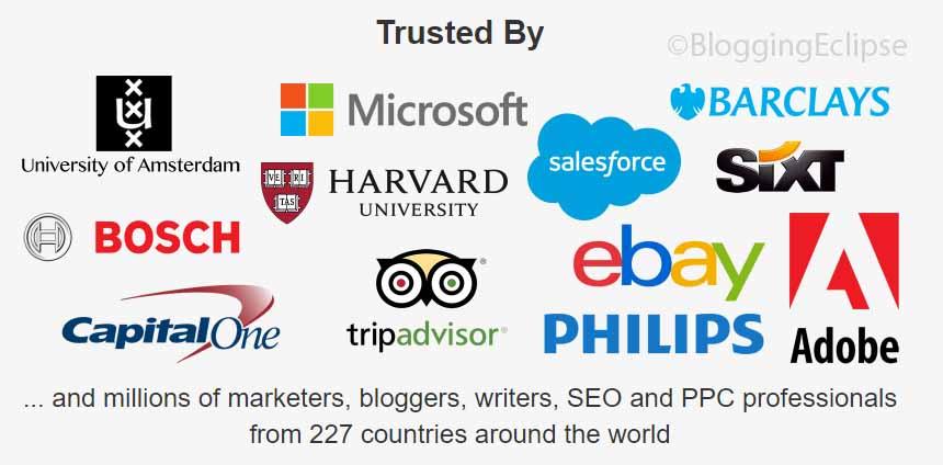 KeywordTool Pro Clients