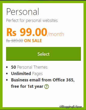 Godaddy Website builder India