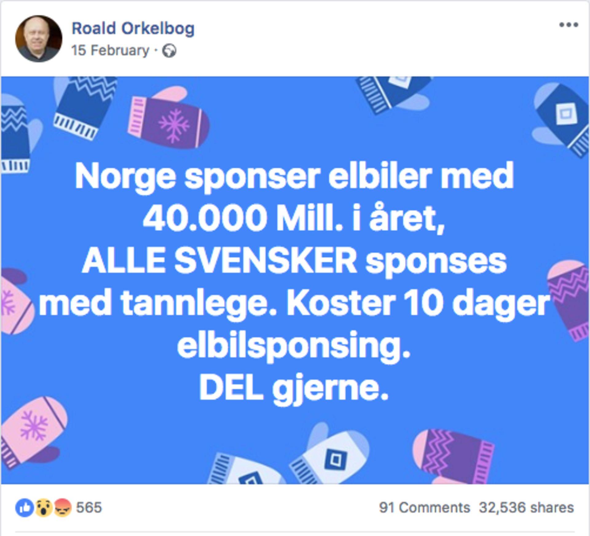 Antall elbiler i norge 2018
