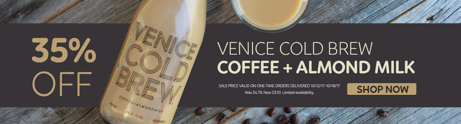 Venice Cold Brew 35% Off