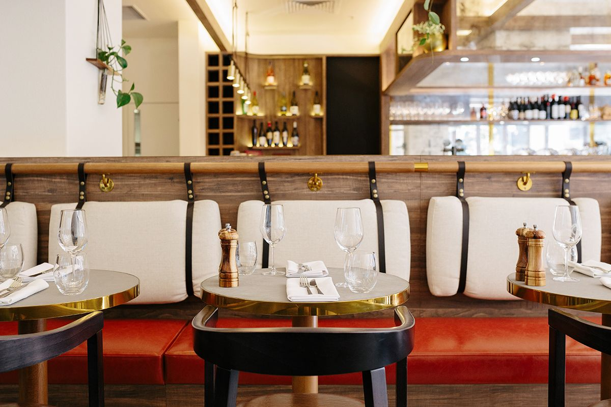 The croft house town kitchen bar