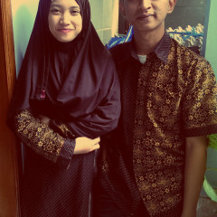 Eid Al-Fitr with My Wife