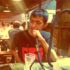 Sisha at Cafe