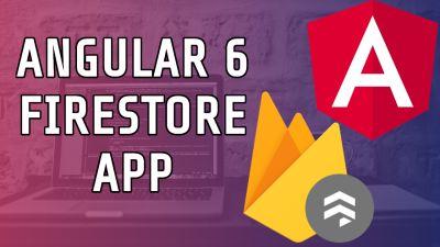 Angular6 Firestore CRUD