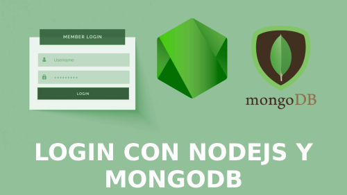 Login y Registro con Nodejs y Mongodb
