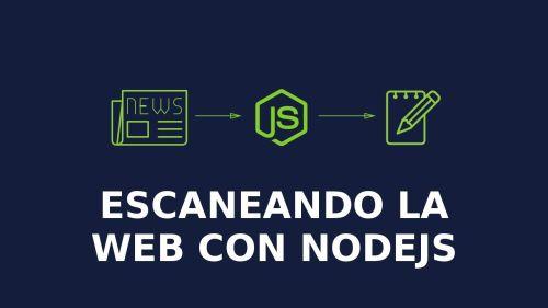 Webscraping con Nodejs