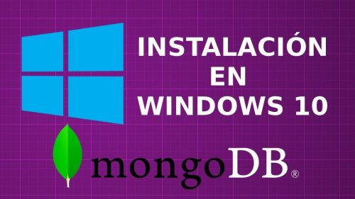 Instalación de Mongodb en Windows 10