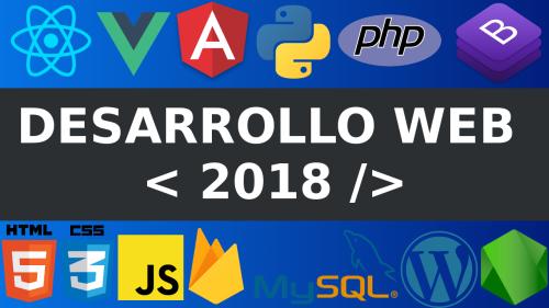 Desarrollo web en el 2018