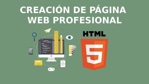 Página Web Profesional con HTML5 y CSS3
